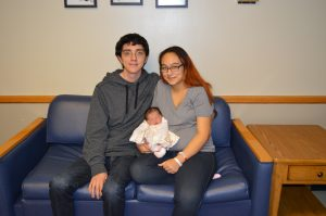 First Baby of the Year Born at Veterans Memorial Hospital