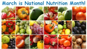 March is National Nutrition Month—Eat to Beat the Cold & Flu Season