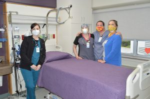 Hospital Urges Use of Face Masks Continue