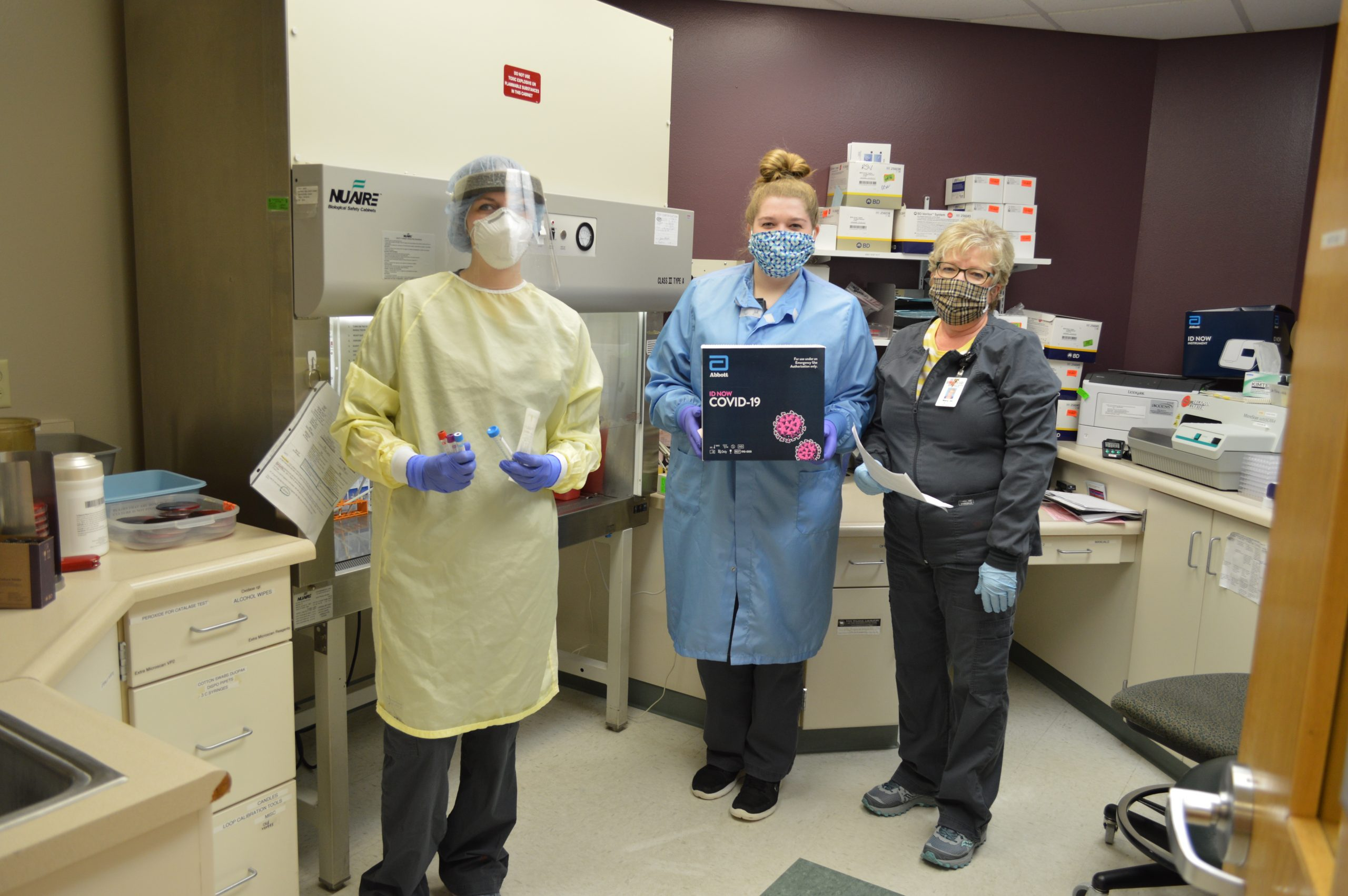 Veterans Memorial Hospital Still Requires Masks for all Services