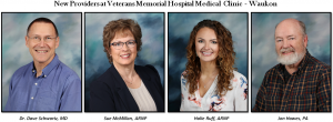 New Providers at Veterans Memorial Hospital Waukon Clinic-Clinic Opens May 3