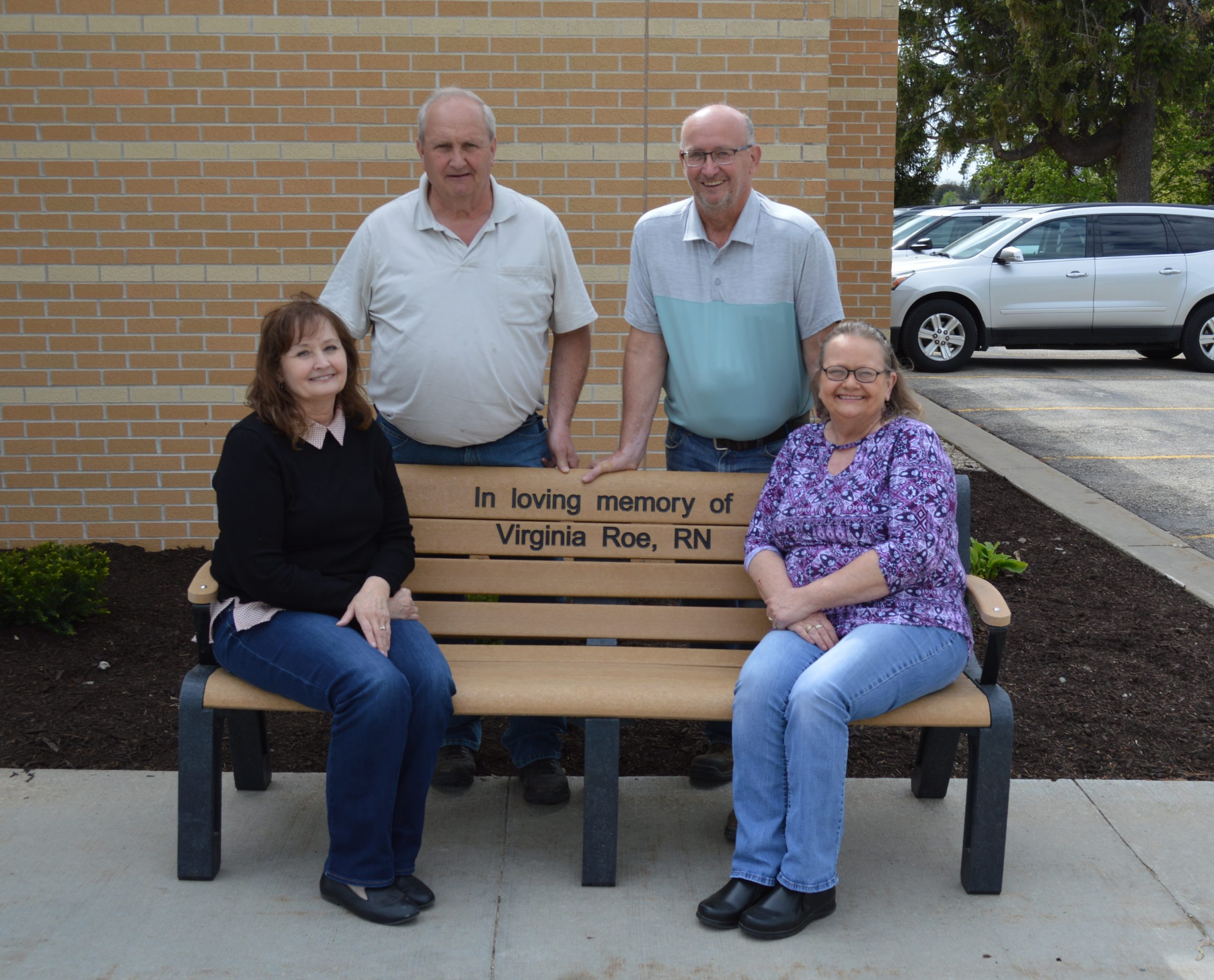 Bench Donation by the Virginia Roe Family
