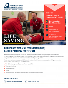 Read more about the article EMT Class Starts October 5 – More EMT's Greatly Needed in Area!